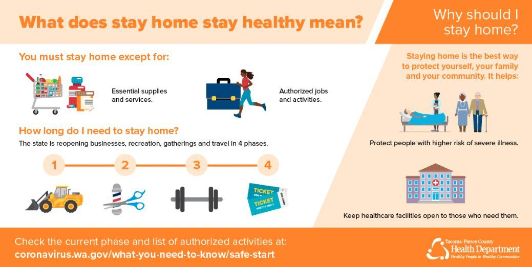 Stay Home Stay Healthy During State Reopening